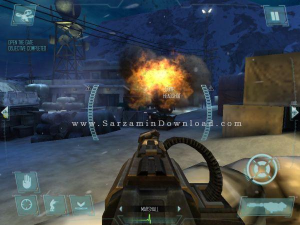 بازی ندای وظیفه (برای اندروید) - Call of Duty Strike Team 1.0.30 Android