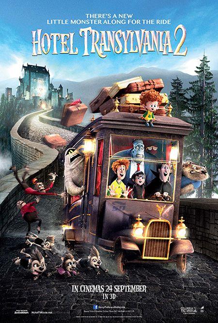 انیمیشن هتل ترنسیلوانیا 2 - Hotel Transylvania 2 Cartoon