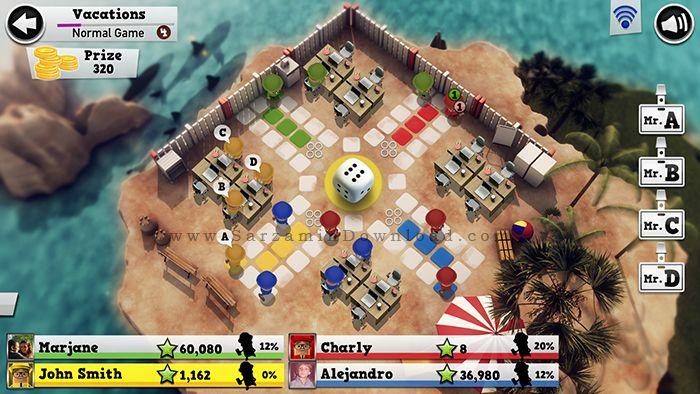 بازی منچ (برای اندروید) - Ludo Online 1.5.5 Android