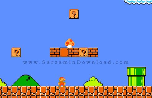 بازی ماریو (برای سیمبین) - Super Mario Symbian