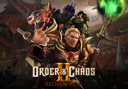 بازی نظم و آشوب (برای اندروید) - Order & Chaos 2 Redemption 1.3 Android