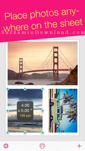 نرم افزار تغییر سایز عکس (برای آیفون) - Print to Size 1.4 iOS