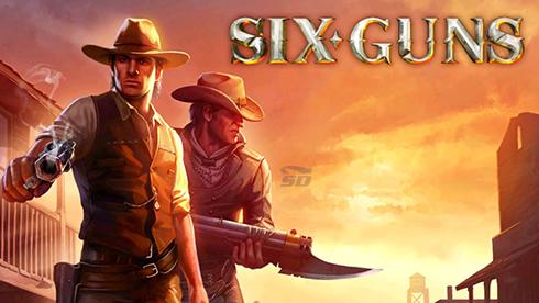 بازی وسترن (برای اندروید) - Six-Guns 2.6.1 Android
