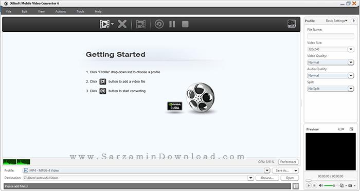 نرم افزار تبدیل فرمت فیلم برای انواع گوشی موبایل - Xilisoft Mobile Video Converter 6.0.12