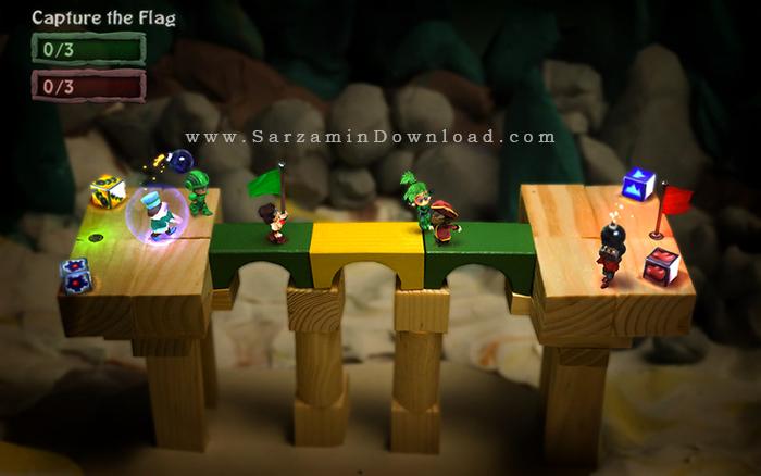 بازی حمله با نارنجک (برای اندروید) - BombSquad 1.4.79 Android