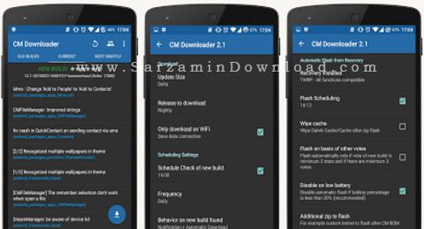 نرم افزار مدیریت دانلود (برای اندروید) - CM Downloader 2.4 Android