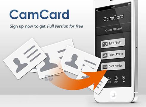 نرم افزار اسکن کارت ویزیت (برای اندروید) - CamCard 6.7.1 Android