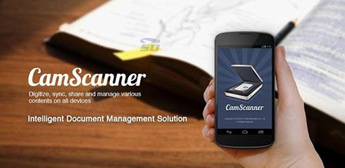نرم افزار تبدیل گوشی به اسکنر (برای اندروید) - CamScanner 4.0.1 Android