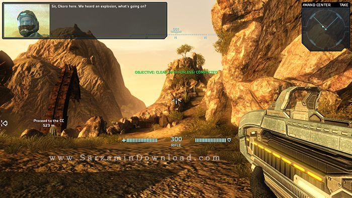 بازی یگان ویژه (برای کامپیوتر) - Carrier Command Gaea Mission PC Game