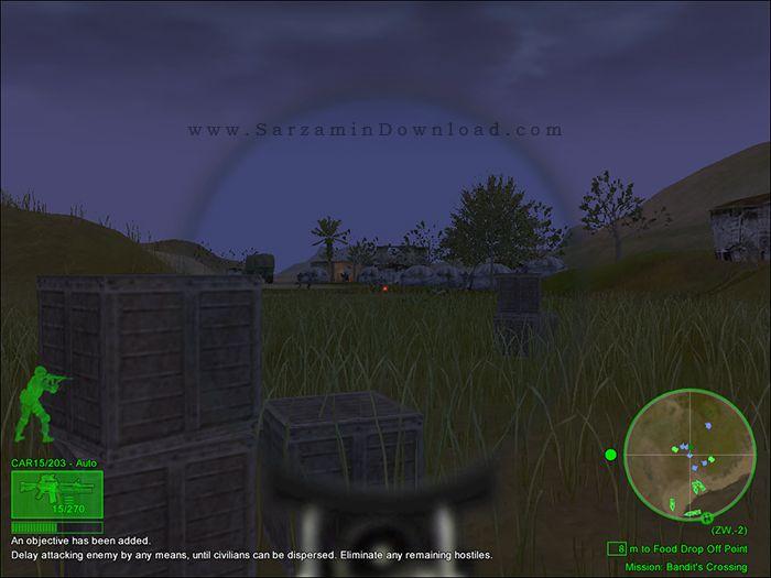 بازی یگان ویژه (برای کامپیوتر) - Delta Force 5 Black Hawk Down PC Game