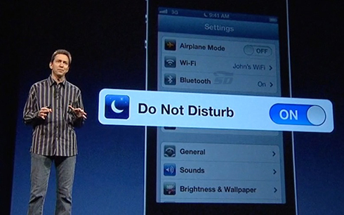 آموزش کار با Do not Disturb در آیفون