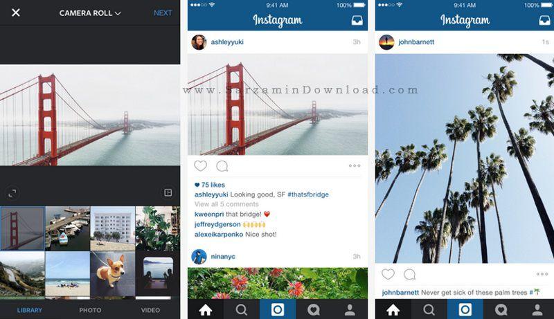 نرم افزار اینستاگرام (برای اندروید) - Instagram 8.1.0 Android