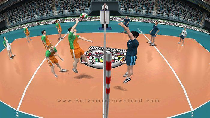 بازی والیبال (برای کامپیوتر) - International Volleyball PC Games