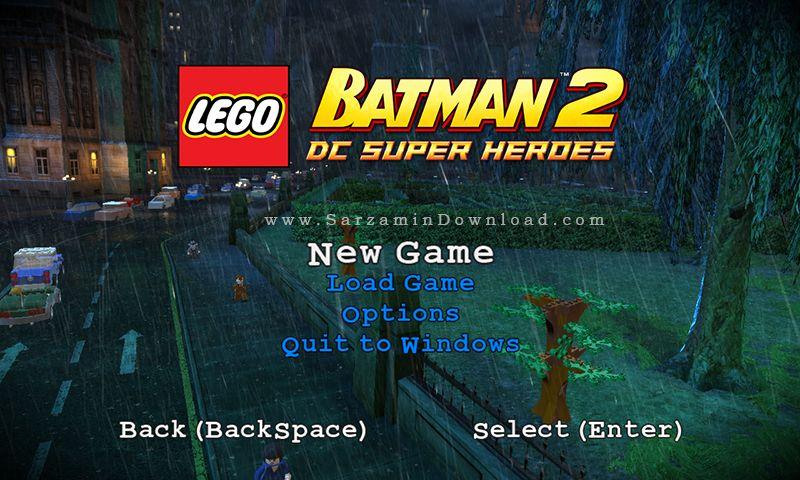 بازی لگو بتمن (برای کامپیوتر) - Lego Batman PC Game