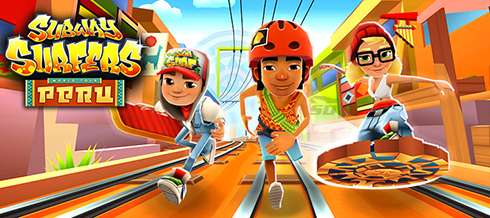 بازی ساب وی سورف پرو (برای اندروید) - Subway Surfers Peru 1.55.1