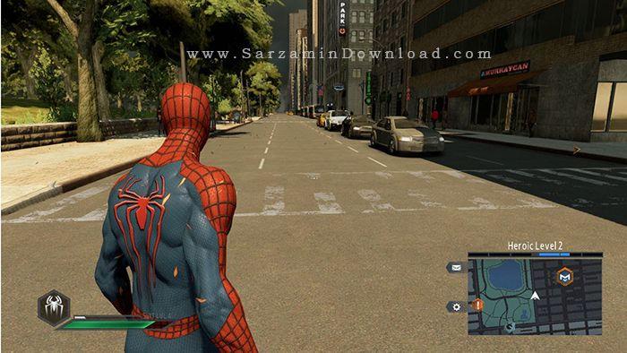 بازی اسپایدرمن (برای کامپیوتر) - The Amazing Spider Man PC Game