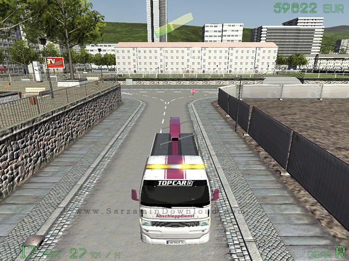 بازی یدک کش (برای کامپیوتر) - Tow Truck Simulator PC Game