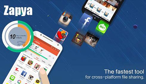 نرم افزار زاپیا (برای اندروید) - Zapya 4.1 Android