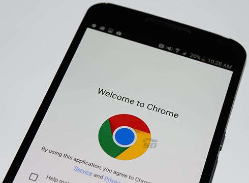 مرورگر کروم (برای اندروید) - Chrome 50.0.2661 Android