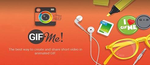 نرم افزار تبدیل ویدیو به GIF (برای اندروید) - Gif Me Camera 1.64 Android