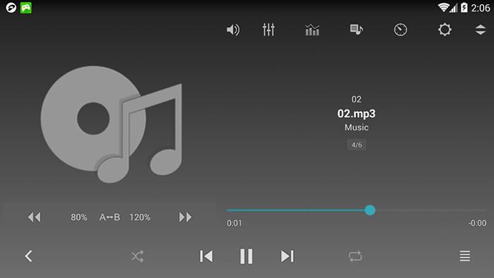 نرم افزار جت آدیو (برای اندروید) - JetAudio 7.2.2 Android