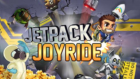 بازی جت پک (برای اندروید) - Jetpack Joyride 1.9.5 Android