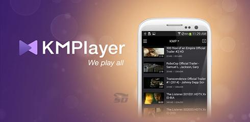 نرم افزار کی ام پلیر (برای اندروید) - KMPlayer 1.7.6 Android