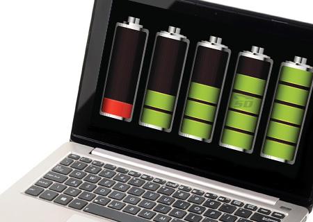 آموزش نمایش میزان سلامت باتری لپ تاپ