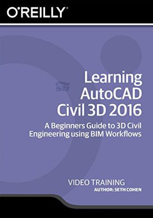 آموزش اتوکد 2016 - Learning AutoCAD Civil 3D 2016