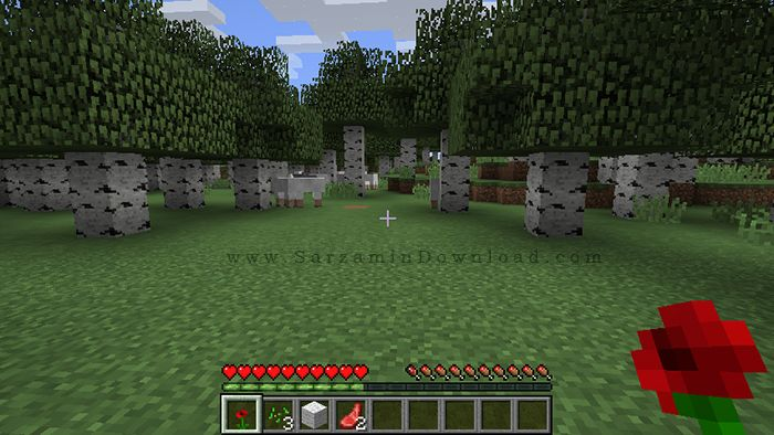 بازی ماین کرفت (برای کامپیوتر) - Minecraft 1.9.0 PC Game