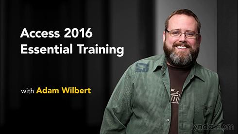 آموزش کامل نرم افزار اکسس - Access 2016 Essential Training