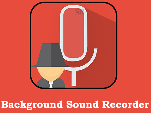 نرم افزار ضبط مخفیانه صدا (برای اندروید) - Background Sound Recorder 1.07 Android