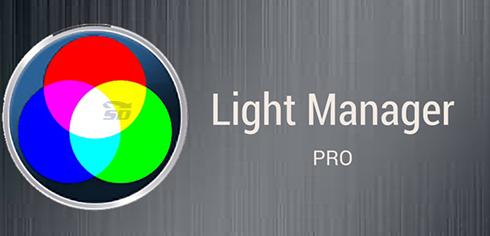 نرم افزار مدیریت چراغ هشدار (برای اندروید) - Light Manager Pro 9.8 Android