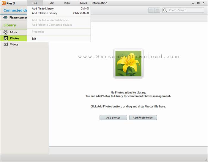 نرم افزار مدیریت گوشی های سامسونگ - Samsung Kies 3.2.16044.2