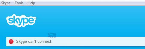 آموزش رفع مشکل ورود به اسکایپ