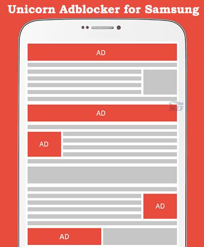 نرم افزار ضد تبلیغات (برای اندروید) - Unicorn Adblocker for Samsung 1.3.8 Android