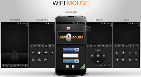 نرم افزار تبدیل گوشی به ماوس (برای اندروید) - WiFi Mouse Pro 3.0.5 Android