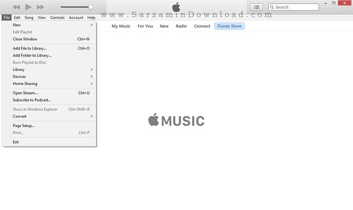 نرم افزار آیتونز برای گوشی های اپل - iTunes 12.4.1.6