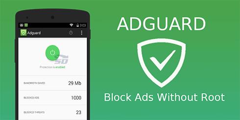 نرم افزار ضد تبلیغات (برای اندروید) - Adguard Premium 2.6.101 Android