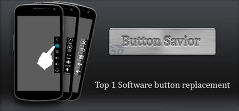 نرم افزار کلید مجازی (برای اندروید) - Button Savior PRO 2.2.4 Android