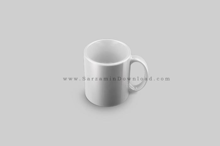 طرح لایه باز لیوان - Coffee Mug PSD