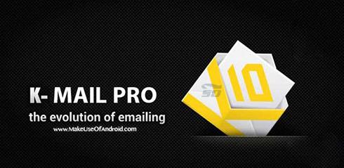 نرم افزار مدیریت ایمیل (برای اندروید) - K-@ Mail Pro 1.13.1 Android