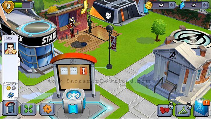 بازی اونجرز (برای اندروید) - MARVEL Avengers Academy 1.0.52 Android