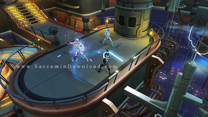 بازی جنگ ستارگان (برای اندروید) - Star Wars Uprising 2.1.4 Android