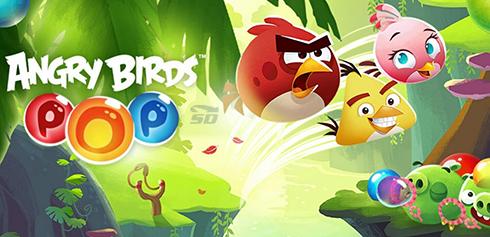 بازی پرندگان خشمگین (برای اندروید) - Angry Birds POP Bubble Shooter 2.17.2 Android
