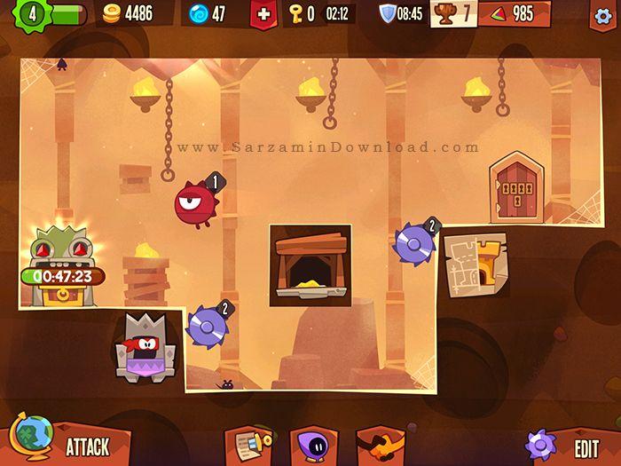 بازی شاه دزد (برای اندروید) - King of Thieves 2.11.1 Android