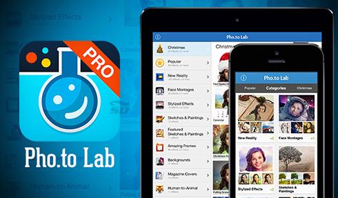 نرم افزار ویرایش عکس (برای اندروید) - Pho.to Lab PRO 2.0.347 Android