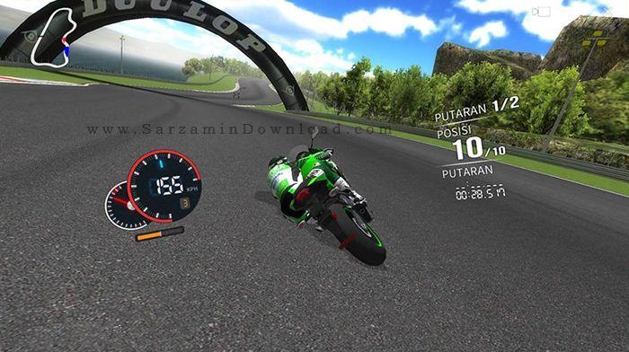 بازی موتور (برای اندروید) - Real Moto 1.0.153 Android
