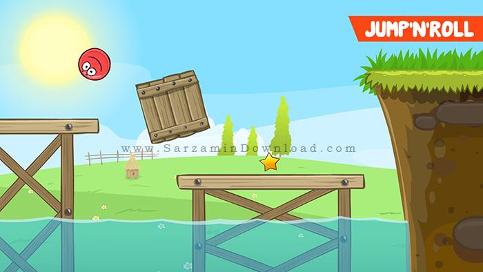 بازی توپ قرمز (برای اندروید) - Red Ball 4 v.1.2.36 Android