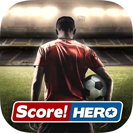 بازی شبیه سازی گل های تاریخی (برای اندروید) - Score Hero 1.27 Android